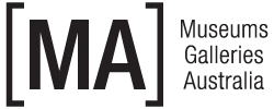 Museums Galleries Australia logo